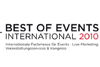 "Großes Interesse an ""Best of Events 2010"""