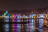 Illumination of lightfestival in Muscat