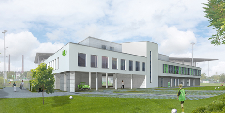 new stadium for vfl wolfsburg sports field construction stadiaworld. Black Bedroom Furniture Sets. Home Design Ideas
